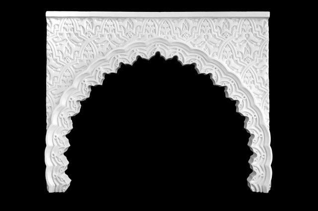 Arco escayola árabe 13