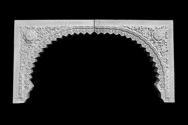 Arco escayola árabe 16