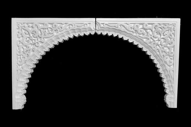 Arco escayola árabe 15