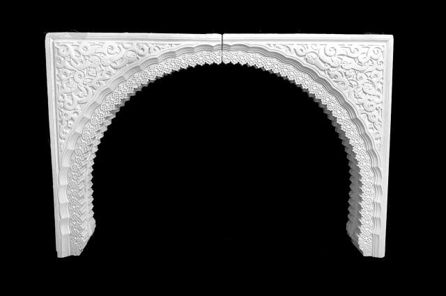 Arco escayola árabe 32