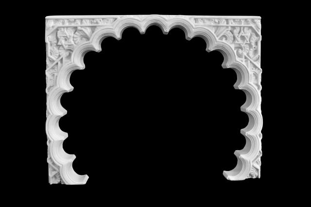 Arco escayola árabe 14